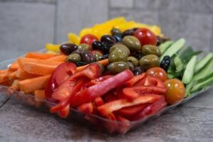 פלטת ירקות קטנה
